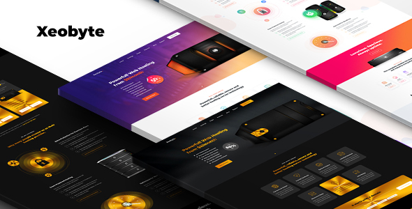 Xeobyte - The Hosting PSD Web Template - Crack Theme