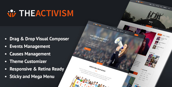 The Activism : Political, Petition WordPress Theme
