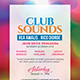 Club Sounds Flyer - GraphicRiver Item for Sale