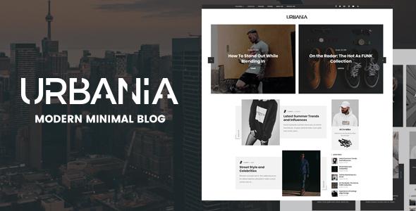 Urbania - Modern Minimal WordPress Blog