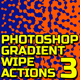 Geometric Gradient Wipe 3 Actions - GraphicRiver Item for Sale