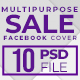 10 Multipurpose Sale Facebook Cover - GraphicRiver Item for Sale