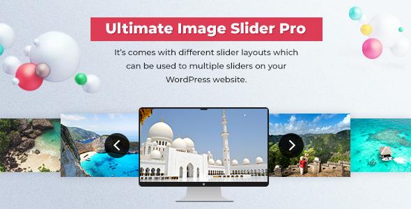 Slider - Ultimate Image Slider Pro For WordPress