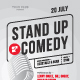 Standup Poster Template - GraphicRiver Item for Sale