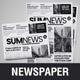 16 Page Newspaper Design v4 - GraphicRiver Item for Sale