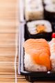 sushi box closeup - PhotoDune Item for Sale