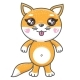 Fox Cartoon Vector Illustration - GraphicRiver Item for Sale