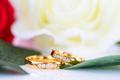 Close up Gold ring and Red roses on white_-13 - PhotoDune Item for Sale