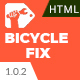 Bicycle Fix - Maintenance and Tune-Ups Shop HTML5 Template - ThemeForest Item for Sale