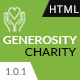 Generosity - Charity HTML5 Template - ThemeForest Item for Sale
