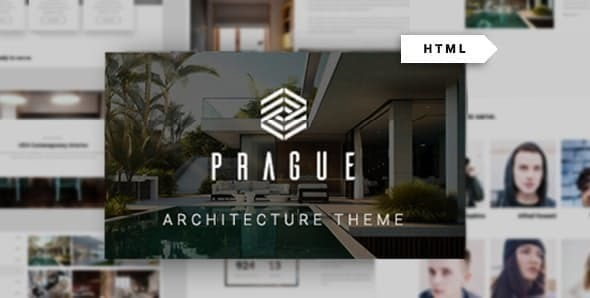 Prague - Architecture HTML Template
