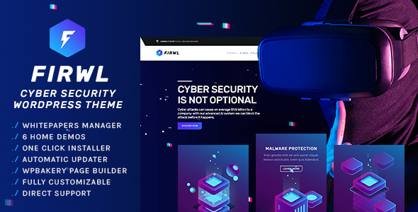 Firwl - Cyber Security WordPress Theme