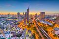 Bangkok, Thailand city skyline at dusk. - PhotoDune Item for Sale