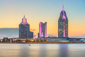 Mobile, Alabama, USA river skyline - PhotoDune Item for Sale