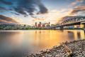Portland, Oregon, USA skyline at dusk - PhotoDune Item for Sale