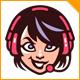 Girl Game Streamer Logo - GraphicRiver Item for Sale