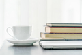 Coffee cup and book on table-2 - PhotoDune Item for Sale