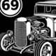 Vintage Hot Rod Graphic T-Shirts Collection - GraphicRiver Item for Sale