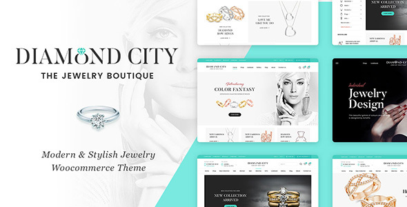 DiCi - Jewellery Shop WordPress Theme