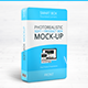 Box Mock-Up - Rounded Corners Vol 2.1 - GraphicRiver Item for Sale