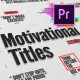 Just Type   Motivational Titles For Premiere Pro - VideoHive Item for Sale