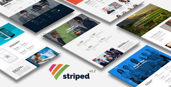 Striped - Multipurpose Business and Corporate Theme