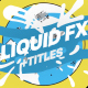 Liquid Shapes And Titles | Apple Motion - VideoHive Item for Sale