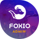 Foxio - Responsive Admin Dashboard Template - ThemeForest Item for Sale