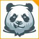 Panda Look Logo - GraphicRiver Item for Sale
