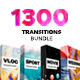 Transitions Bundle 4 in 1 - VideoHive Item for Sale