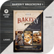 Bakery Brochure 1 - GraphicRiver Item for Sale