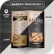 Bakery Brochure 2 - GraphicRiver Item for Sale