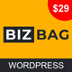 Bizbag - Responsive Multi-Purpose WordPress Theme - ThemeForest Item for Sale