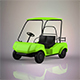 Golf Cart - 3DOcean Item for Sale