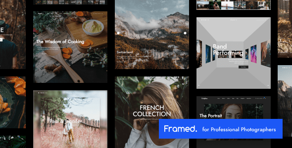 Framed Photography | Photography WordPress for Photography