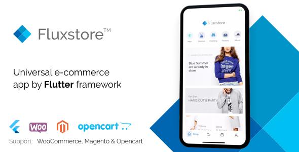 FluxStore – Flutter E-commerce Full App