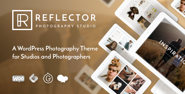 Reflector - Studio Photography WordPress Theme