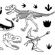Set of Dinosaurs - GraphicRiver Item for Sale