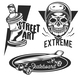 Set of Street Activities Emblems - GraphicRiver Item for Sale