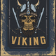 Poster Design with Viking's Skull - GraphicRiver Item for Sale