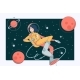 Astronaut in Outer Space - GraphicRiver Item for Sale