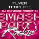 Smash Party Flyer Vol. 5 - GraphicRiver Item for Sale