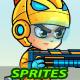 SpaceBoy 2D Game Sprites - GraphicRiver Item for Sale