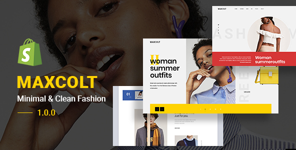 MAXCOLT – Minimal & Clean Fashion Shopify Theme