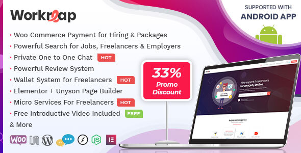 Workreap - Freelance Marketplace WordPress Theme