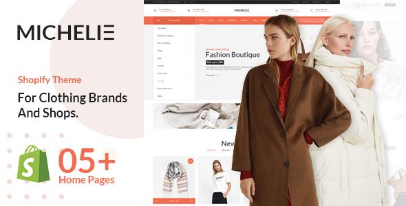 MICHELIE – Minimal & Clean Fashion Shopify Theme