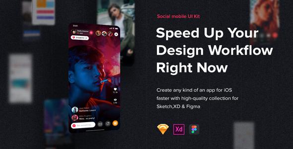 JAZAM - Social UI Kit for Mobile App