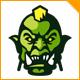 Evil Orc Logo - GraphicRiver Item for Sale