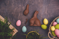 eggs chocolate diet on easter - PhotoDune Item for Sale
