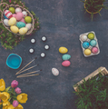 eastertime background table - PhotoDune Item for Sale